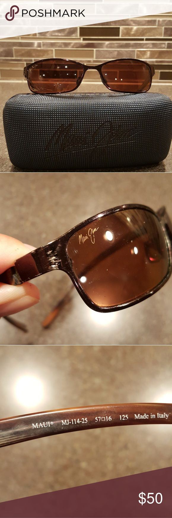Maui Jim Sunglasses with case Maui Jim Sunglasses with case Maui Jim Accessories Sunglasses