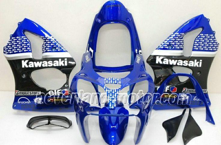 Kawasaki ninja zx6r 20002002 abs fairing nakano