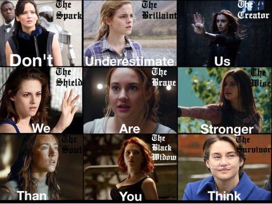 Katniss, Tris, Hermione, Hazel, Annabeth- Which Are You?