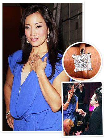 Engagement ring stars  55 best Celebrity Engagement Rings images on Pinterest | Celebrity ...
