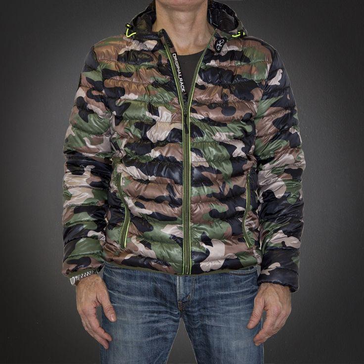 Piumino Camouflage Originalrace