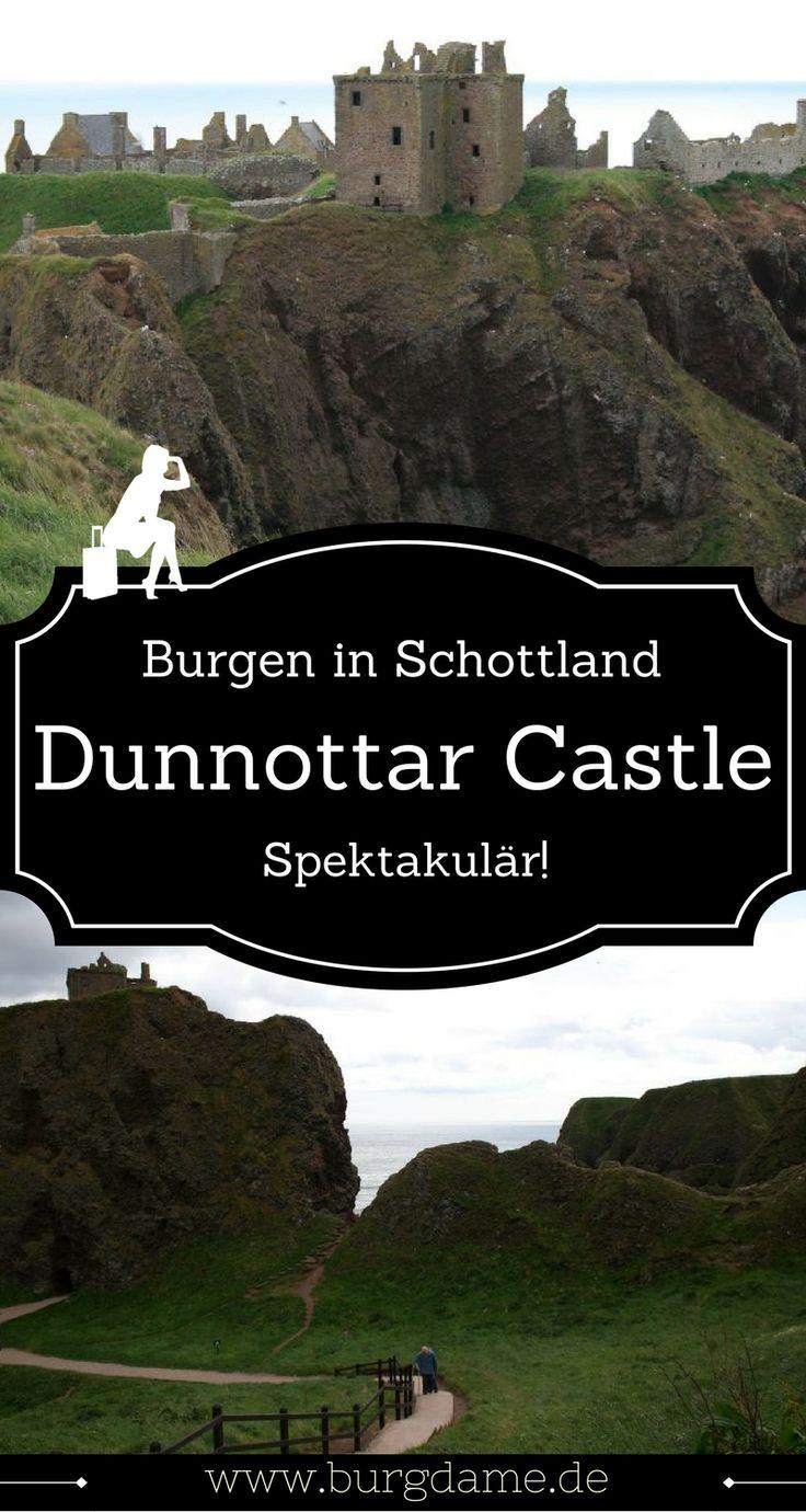 Die vielleicht spektakulärste Burgruine in Schottland ist Dunnottar Castle - die Lage an den Steilklippen ist einmalig.