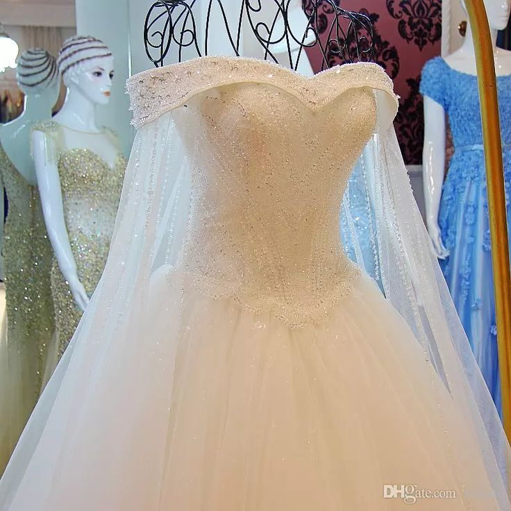 Real Photo Off the Shoulder Cape Wedding Dresses Luxury Crystal Beading Appliques Wedding Dresses Vestidos De Noiva Bridal Gown with Shawl Wedding Dress with Cape Crystal Wedding Dresses Bridal Wedding Dresses Online with $383.34/Piece on Faisata's Store | DHgate.com