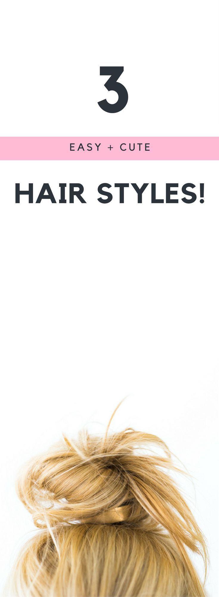 Apprenez une coiffure chignon de noeud supérieur en moins d'une minute - #hairstyle #learn #minute #under - #nouveau