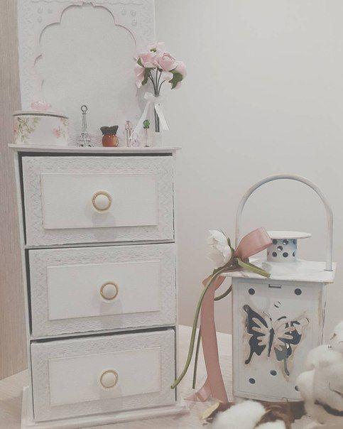 "Мини комод мамины сокровища ""Dream in white"" | 13 фотографий"