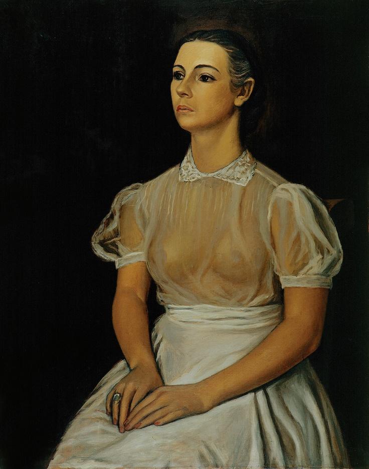 RAÚL ANGUIANO , Retrato de María Asúnsolo, 1942