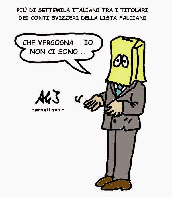 #Swissleaks : emergono i nomi italiani della lista #Falciani di potenziali #evasori