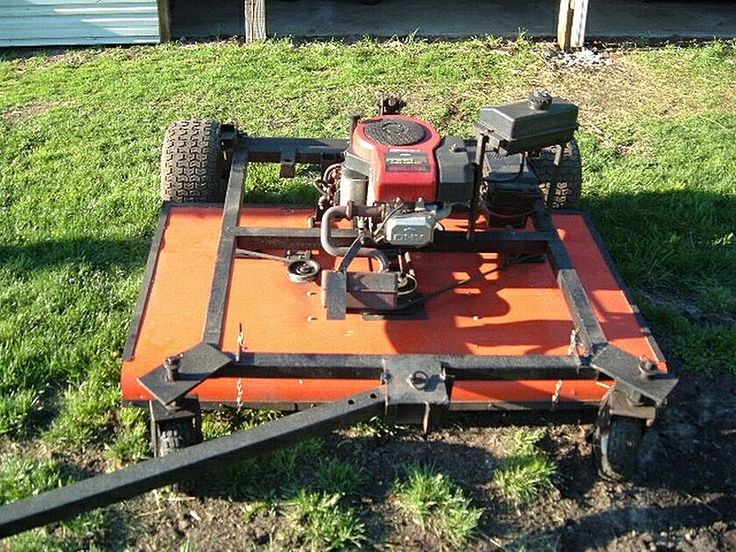 "Homemade 60"" Trail mower - Custom - Gallery - Garden Tractor Talk ..."