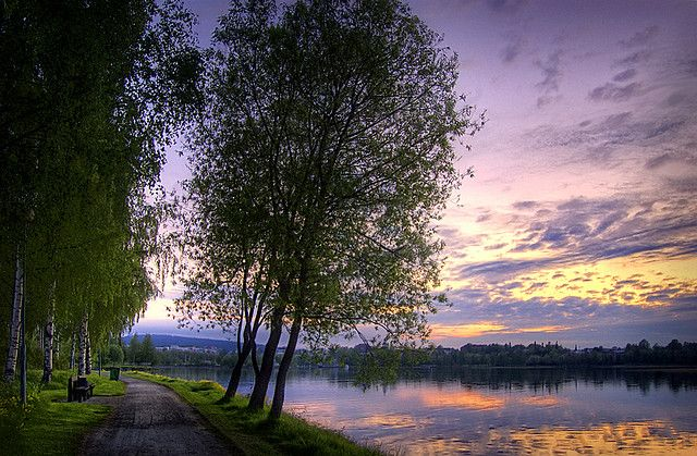 Kuopio, Finland -just like a painting.