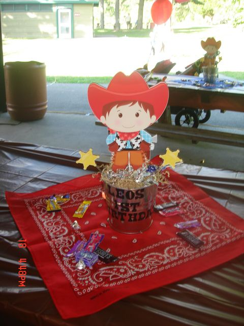 "Photo 17 of 38: Cowboy / Birthday ""Leo's Wild Wild West 1st Birthday!"""