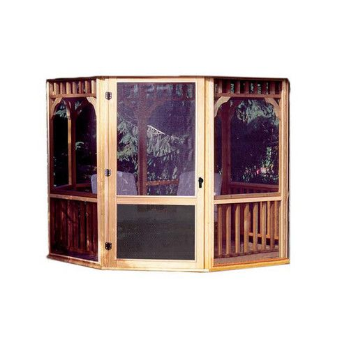 Found it at Wayfair - Monterey Screen Kit For 10 Ft. W x 14 Ft. D Gazebo