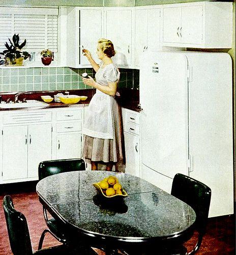 501 besten Retro Kitchens - 2 Bilder auf Pinterest   Küchen ...