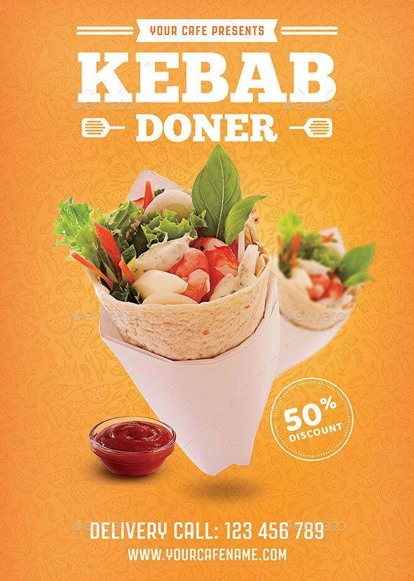 Doner Kebab Flyer - Download…