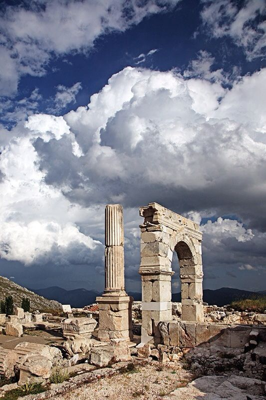Sagalassos Ancient City / Aglasun,Burdur,Turkey