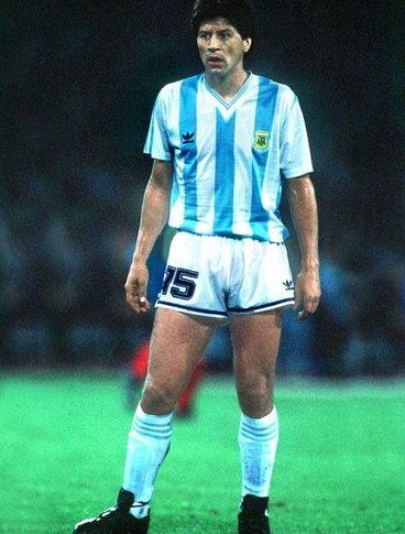 Pedro Monzon of Argentina in 1990.