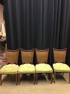 Dining room chairs (solid wood)
