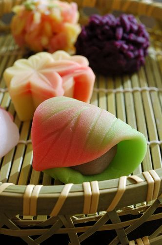 Japanese Wagashi. #japan #sweets #foods #photography