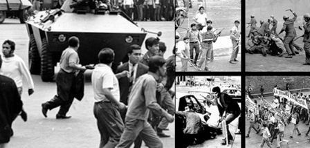 Protesta del 10 de junio de 1971, fue suprimida por grupos paramilitares ligados a la policía y el ejercito. Se le conoce como el Halconazo.