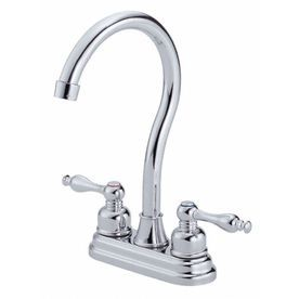 Danze Sheridan Chrome 2-Handle Handle(S) Included Bar And Prep Faucet