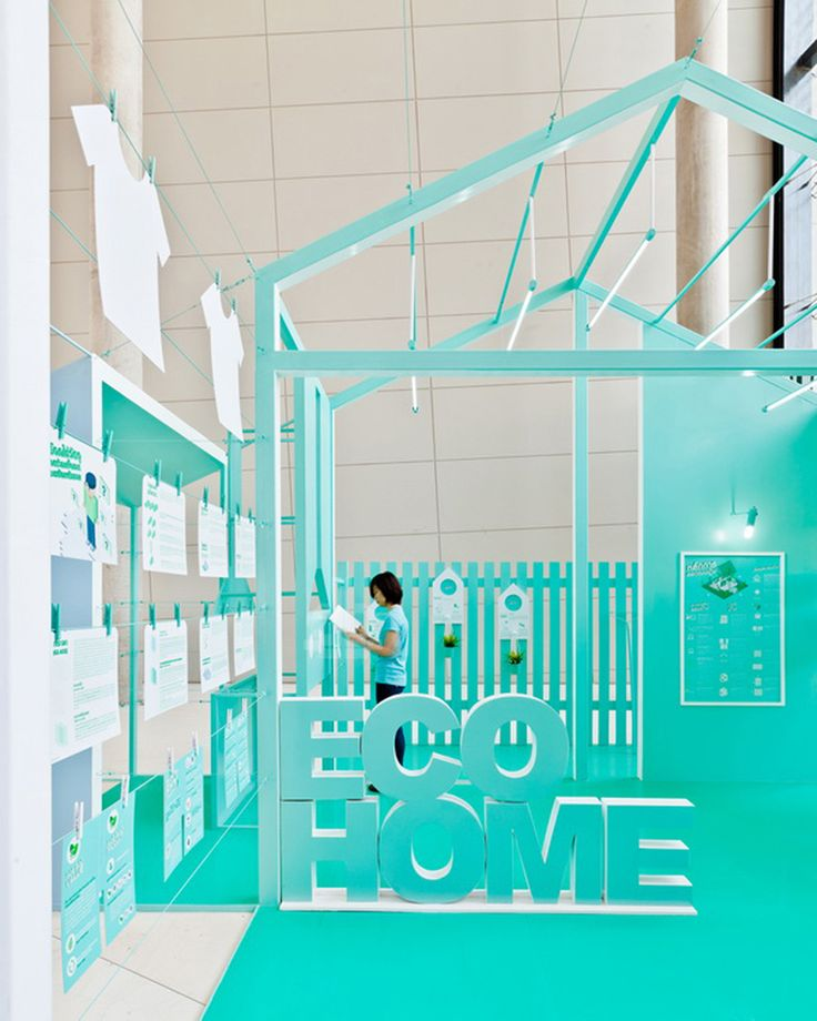 apostrophy's creates 'living for tomorrow' display at the 'SCG experience' in bangkok, thailand