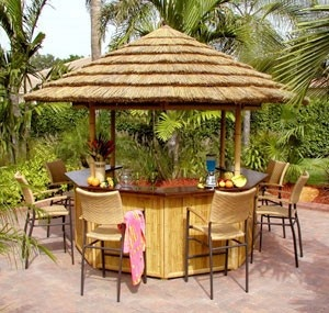 Oasis Tiki Bar. The perfect way to help serve your guests!
