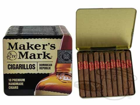 Maker's Mark Tins 4 x 28—Tins: 100 Cigarillos - Best Cigar Prices