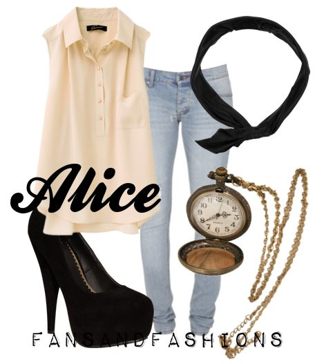 Alice In Wonderland Fashion Inspiration- I would probably pair it with a blazer of some kind