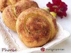 Γλυκά ψωμάκια τα οποία περιέχουν ταχίνι και κανέλα!