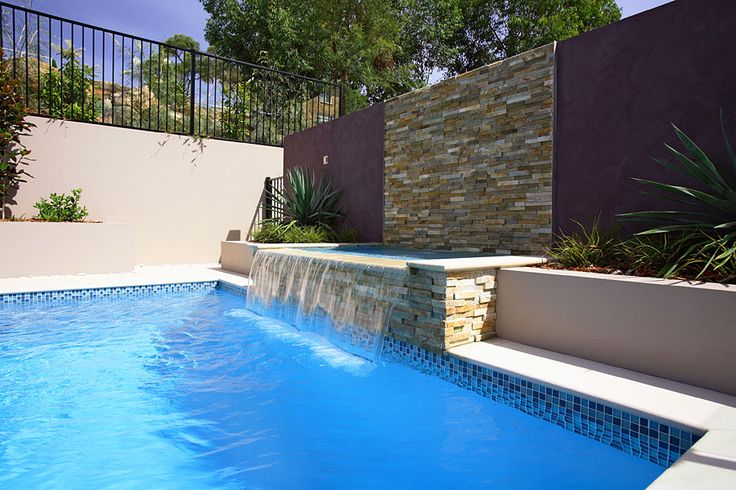 water feature swimming pool - Google Search