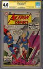 Action Comics #252 SIGNED by Melissa Benoist CGC 4.0 1st App. Supergirl DC 1959