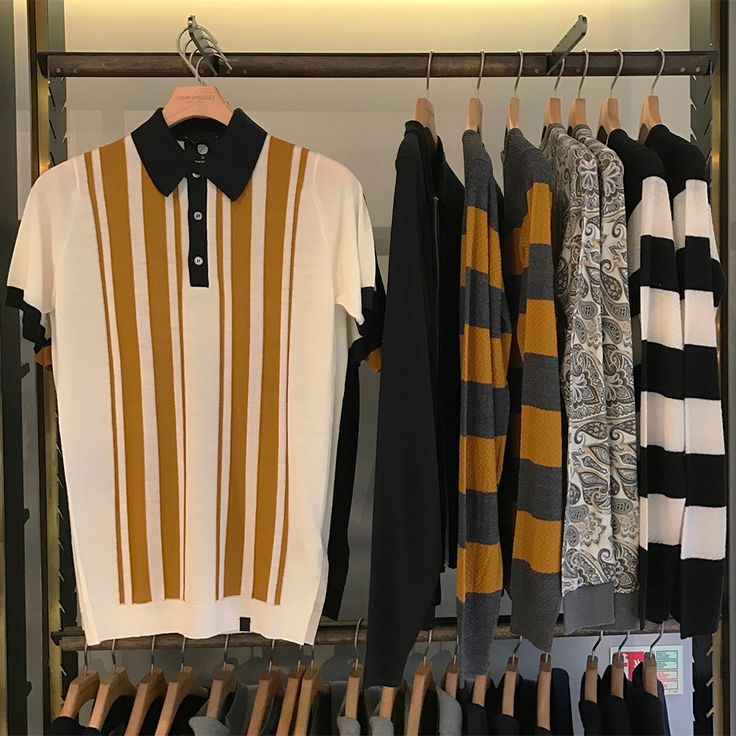 Our collaboration with #PrettyGreen on display at our Brook St store in London's Mayfair
