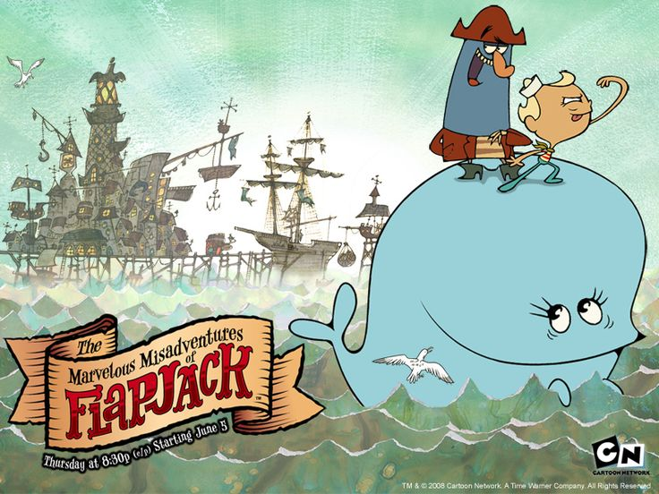 "The Marvelous Misadventures of Flapjack - ""an Emmy award-winning American animated television series produced for Cartoon Network that premiered on June 5, 2008 and ended on August 31, 2010. The show was created by cartoonist Thurop Van Orman who has worked as a writer and storyboard artist on The Powerpuff Girls, The Grim Adventures of Billy & Mandy and Camp Lazlo."""