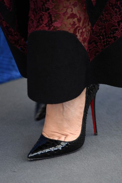 Monica Bellucci Photos - Actress Monica Bellucci, shoe detail, attends a photocall for 'On The Milky Road' during the 73rd Venice Film Festival at Palazzo del Casino on September 9, 2016 in Venice, Italy. - 'On the Milky Road' Photocall - 73rd Venice Film Festival