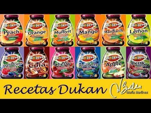 Dieta Dukan: Bebidas Bolero, aptas desde Fase Ataque / Bolero Instant Drink, Dukan friendly - YouTube