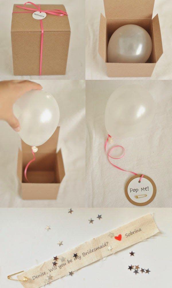 Invitaciones hechas con globos // Balloon invitations
