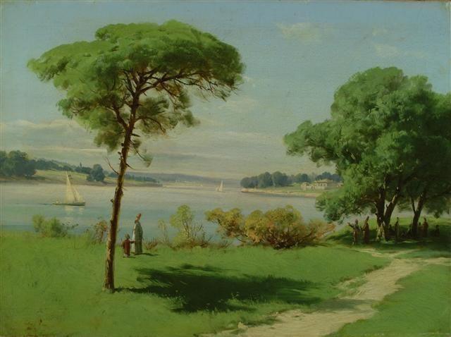 Süleyman Seyyid Bey (1842-1913), Ottoman turkish painter