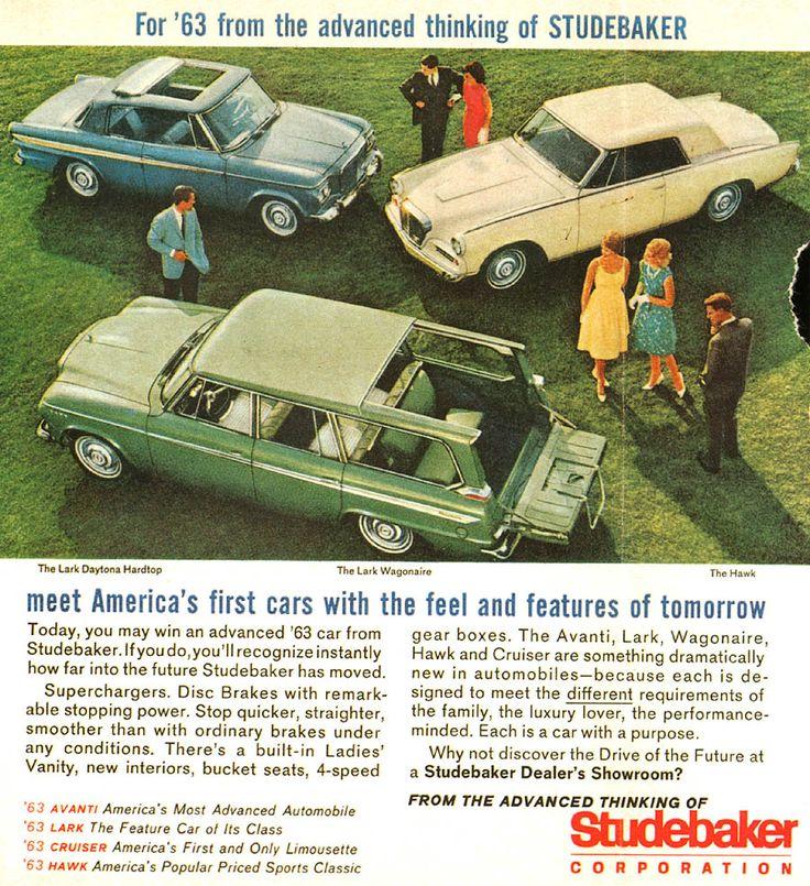 1963 Studebaker Ad
