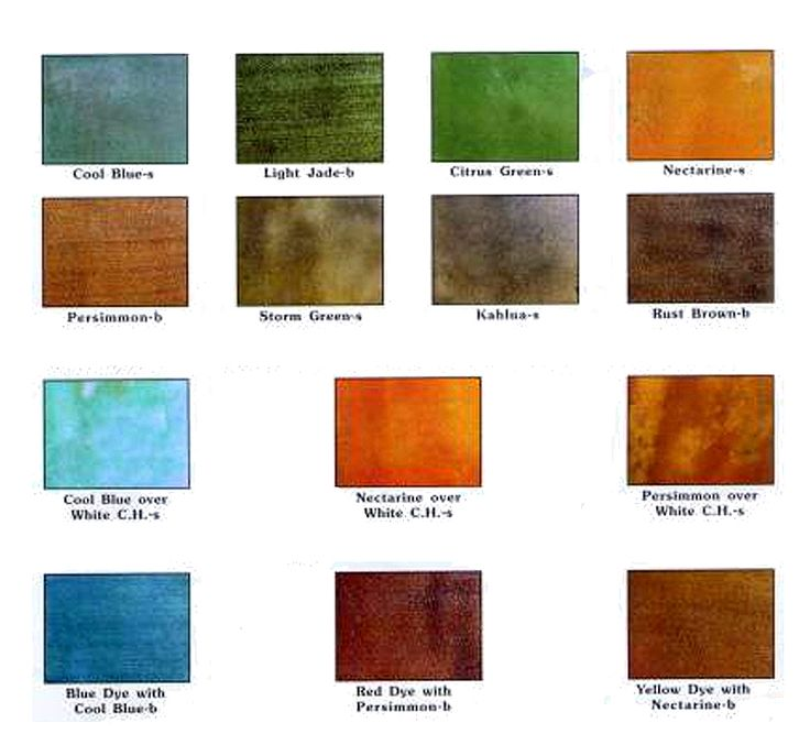 77 best concrete stain colors images on pinterest for Getting stains off concrete