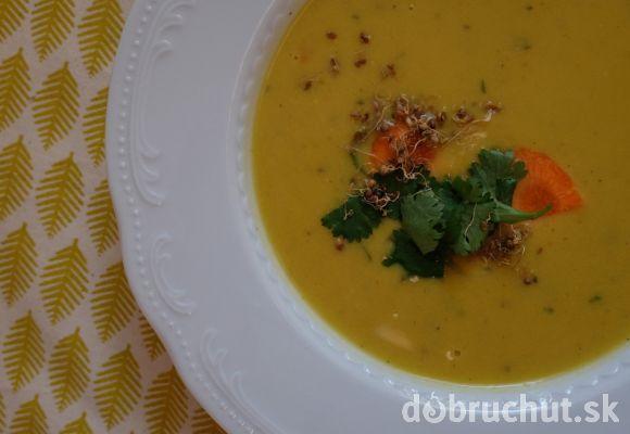 Cícerovo- kokosová polievka