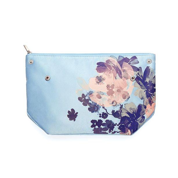 Virágos kozmetikai táska - AVON termékek