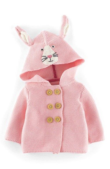 Free shipping and returns on Mini Boden Hooded Knit Jacket (Baby Girls) at Nordstrom.com. Little ears bring playful charm to a hooded knit jacket with double-breasted button closure.