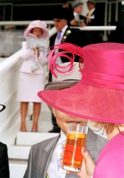 "© Martin Parr, England. Epsom. The Derby, 2004, Series ""Luxury"" Pigment Print, 51 x 76 cm"