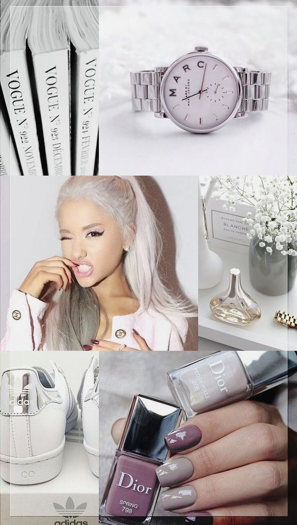 Wallpaper Lockscreen Ariana Grande Focus