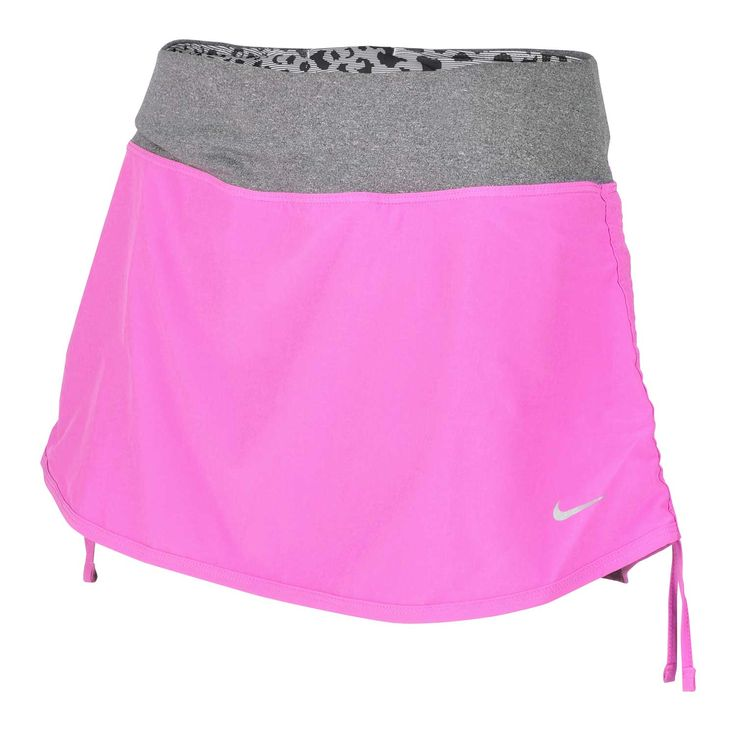 jupe short running nike rival stretch femme rose gris sport pinterest nike shorts and running. Black Bedroom Furniture Sets. Home Design Ideas
