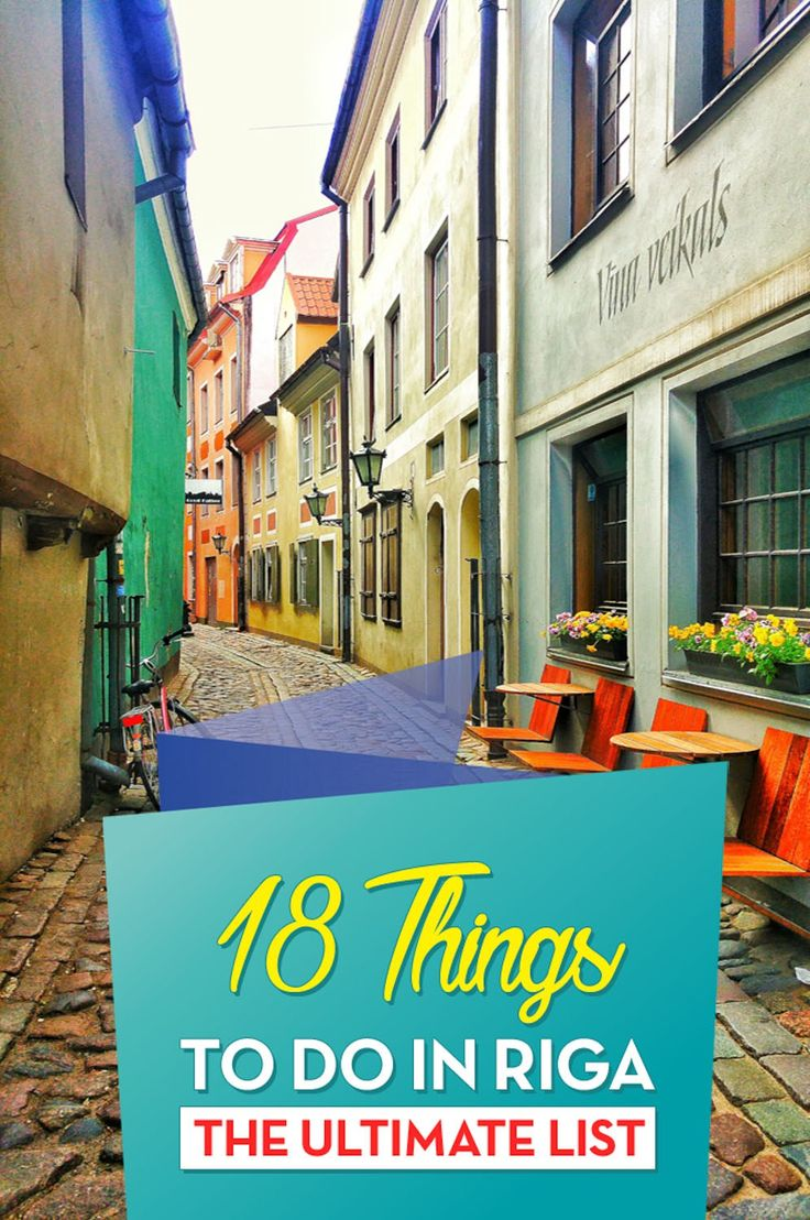 The Ultimate list of what to see and do in Riga, Latvia´s capital