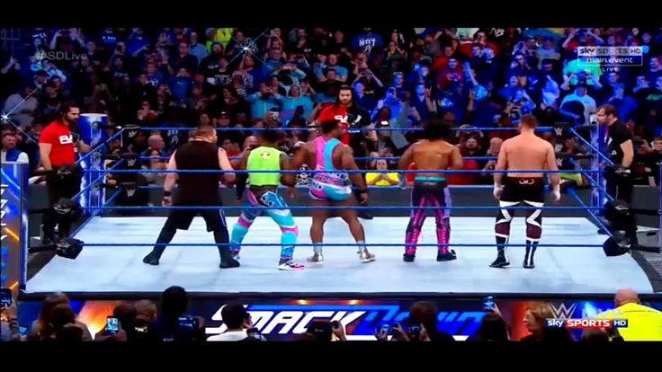 Team RAW Attacked On Team SMACKDOWN November 14th 2017 WWE SMACKDOWN