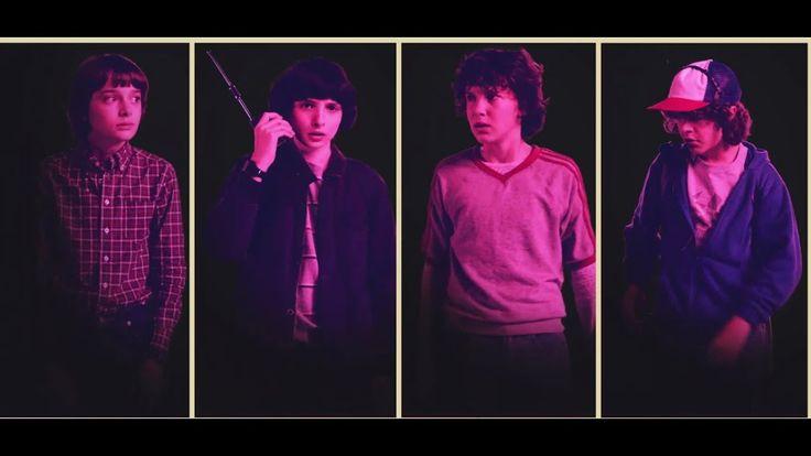 Stranger Things Season 2 Characters Promos - YouTube