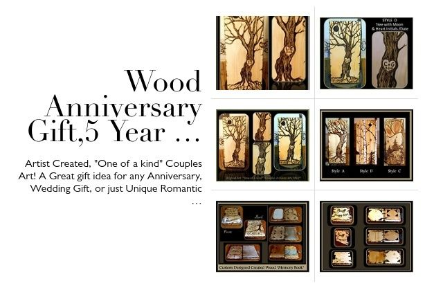 Wedding Anniversary 5 Years Gift Ideas: 1000+ Ideas About Wood Anniversary Gifts On Pinterest