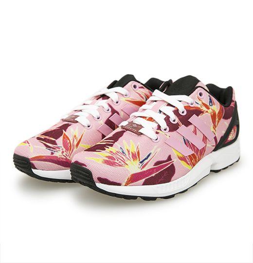 Adidas Zx Flux Pink Floral