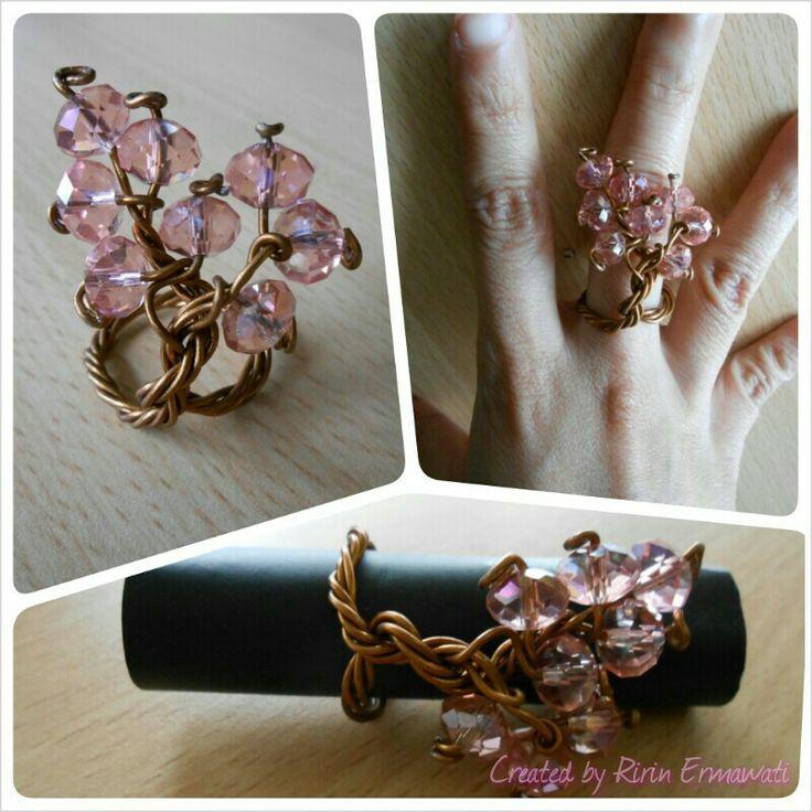 Cherry blossom artistic wire